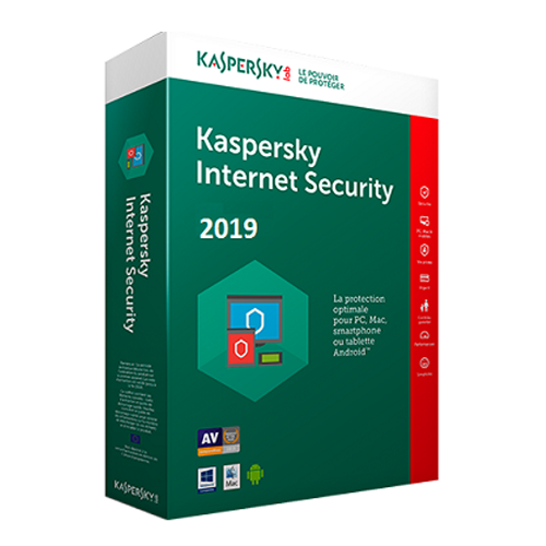 Kaspersky Internet Security 2019 3 PC 1 Year