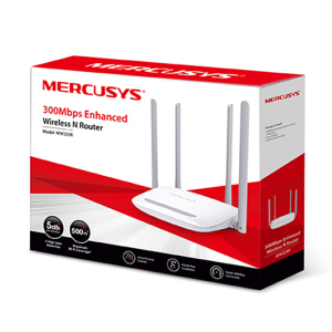 MERCUSYS WIRELESS ROUTER (MW-325R) 300MBPS ENHANCED